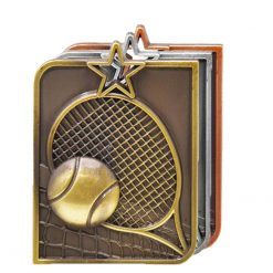 Medal - Tennis Rectangle Series
