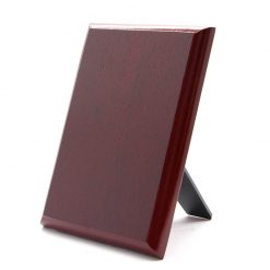 Burgundy Plaque & Stand