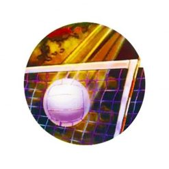Volleyball - Holographic Mylar 50mm