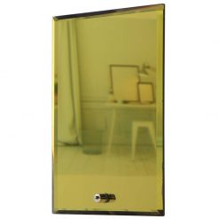 GD - Glass Rectangle Gold Mirror