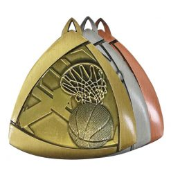 Medal - Basketball Triangle Series