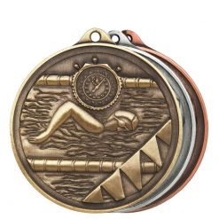 Medal - Swimming Alpha Series