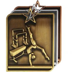Medal - Female Gymnastics Rectangle Series