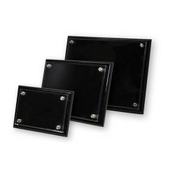 PFA Black Plaque