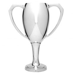 MT104 Silver Chalice Metallic Cup