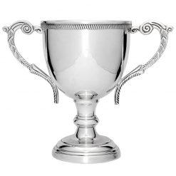 MT202 Silver Round Metallic Cup