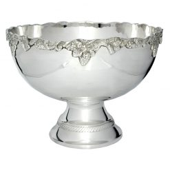 MT300 Silver Floral Metallic Cup