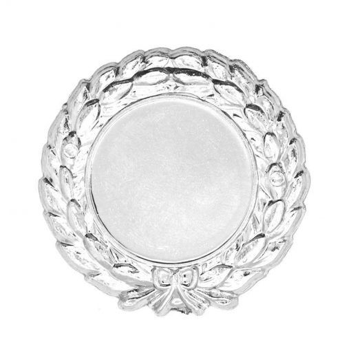 Holder - 25/45mm Wreath Silver