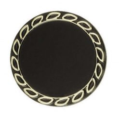 Holder 50/63mm Wreath Gold/Black