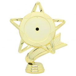 Holder-Star Mylar 50/145 Gold