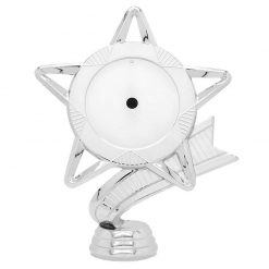 Holder-Star Mylar 50/145 Silver