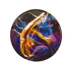 Gymnastics Female - Holographic Mylar 50mm