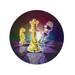 Chess - Holographic Mylar 50mm
