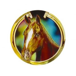 Horse Horsehead - Holographic Mylar 50mm