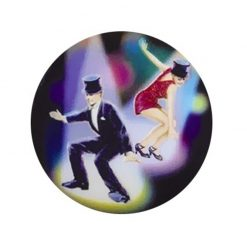 Dancing Jazz - Holographic Mylar 50mm