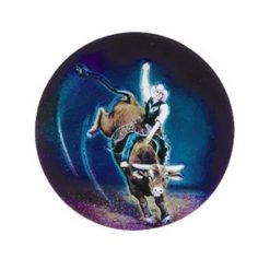 Animals Rodeo Bull - Holographic Mylar 50mm