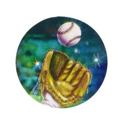 Baseball - Holographic Mylar 50mm