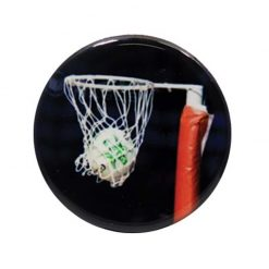 Netball - Ball in Net Acrylic Centre