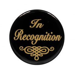 In Recognition - Acrylic Centre