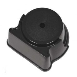 Plastic Base - 1 Hole - Black