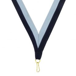 Neck Ribbon - Drk Blue/Lght Blue