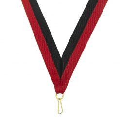 Neck Ribbon - Red/Black
