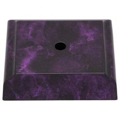 Timber Base -1 Hole Purple Marble Effect