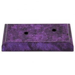 Timber Base - 2 Hole Purple Marble Effect