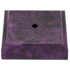 Timber Base - 1 Hole Purple Marble Effect