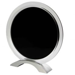 CC533 - Glass Black Circle