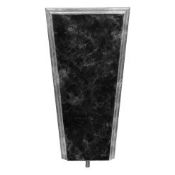 Flat B/Stand Black Marble