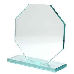 TP07 - Glass Octagon/Stand