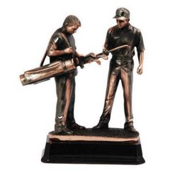CF3 - Golf Copper 2 Males Resin