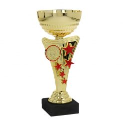 Italian Cups & Marble - The Tuscany Collection Gold/Red