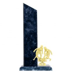 Soccer Double Male Figure Gold Timber Award Blue Marble