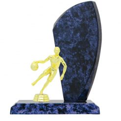 Basketball Double Gold Figure Female Timber Award Blue Marble